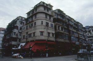 香港油尖旺区にあるアパート