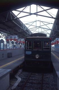1989年に開催された横浜博覧会の山下公園駅