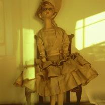 ブラフ18番館に飾られていた人形